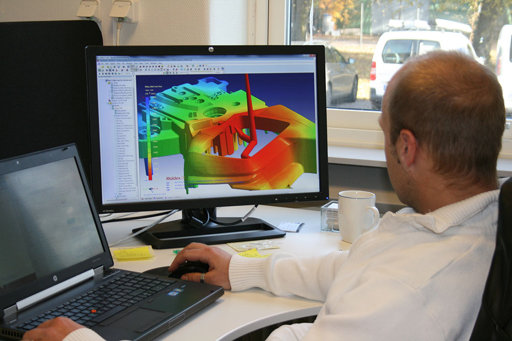 Euroform offers the possibility to do a simulation of your 3d-model
