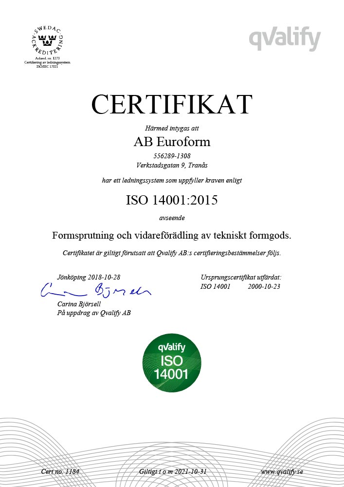 1184-AB-Euroform–ISO-14001-sv